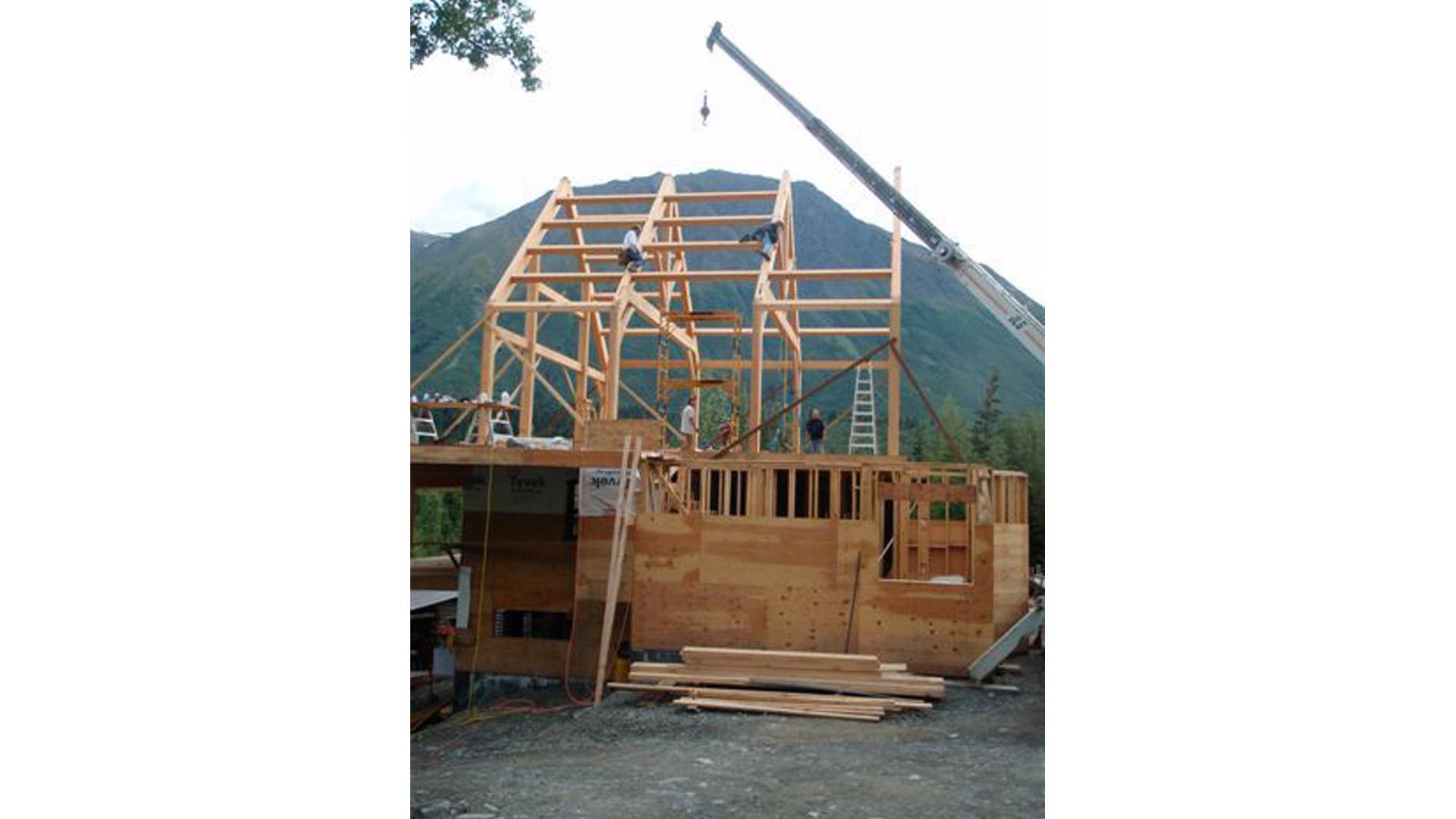 Cut My Timber » Alaska Timber Frame